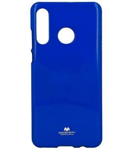 """Mėlynas silikoninis dėklas Huawei P30 Lite telefonui """"Mercury Goospery Pearl Jelly Case"""""""