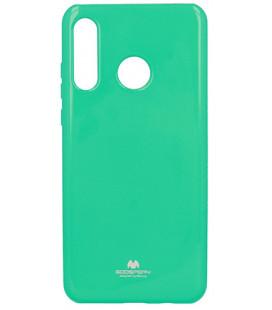 """Mėtos spalvos silikoninis dėklas Huawei P30 Lite telefonui """"Mercury Goospery Pearl Jelly Case"""""""
