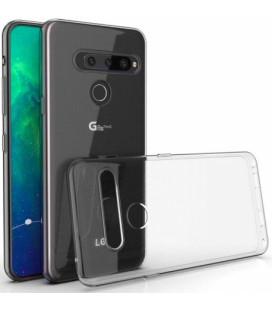 "Skaidrus silikoninis dėklas LG G8s ThinQ telefonui ""Clear"""