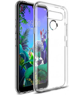 "Skaidrus silikoninis dėklas LG Q60 telefonui ""Clear"""
