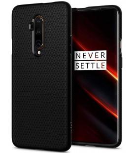 """Juodas dėklas Oneplus 7T Pro telefonui """"Spigen Liquid Air"""""""