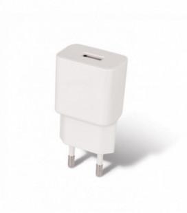 Įkroviklis buitinis Maxlife MXTC-01 USB + Type-C (1A) baltas