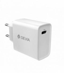 Įkroviklis buitinis Devia Smart PD Quick Charge baltas