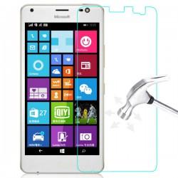 """Apsauginė ekrano plėvelė - Apsauginis grūdintas stiklas """"Tempered Glass"""" Microsoft Lumia 850 telefonui"""