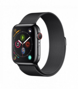 Apyrankė Devia Elegant Link Bracelet 40mm Apple Watch juoda