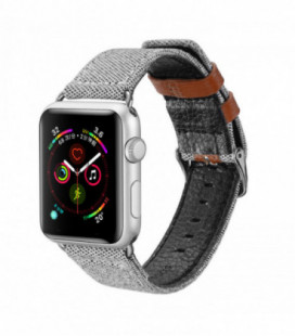 Apyrankė Dux Ducis Casual Version 38/40mm Apple Watch pilka