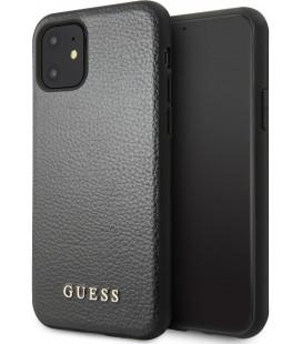 """Juodas dėklas Apple iPhone 11 telefonui """"Guess Iridescent"""""""