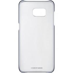 "Originalus juodas dėklas ""Clear Cover"" Samsung Galaxy S7 Edge telefonui ef-qg935cbe"