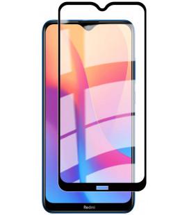 """5D Lenktas juodas apsauginis grūdintas stiklas Xiaomi Redmi 8 / 8A telefonui """"Full Glue"""""""