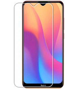 "Apsauginis grūdintas stiklas Xiaomi Redmi 8 / 8A telefonui ""GOLD"""