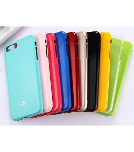 """Juodas silikoninis dėklas Xiaomi Redmi Note 8 Pro telefonui """"Mercury Goospery Pearl Jelly Case"""""""