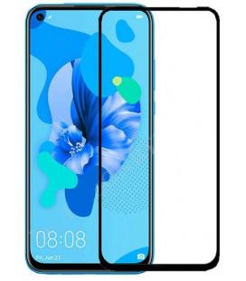 """Juodas apsauginis grūdintas stiklas Huawei Mate 30 Lite telefonui """"Wozinsky Full Glue CF"""""""