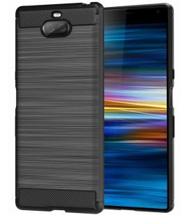 "Juodas dėklas Sony Xperia XA3 telefonui ""Tech-Protect"""
