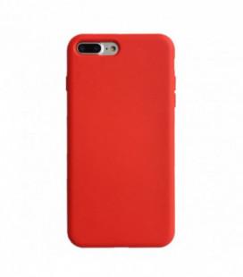 Dėklas Liquid Silicone 2.0mm Apple iPhone 11 raudonas