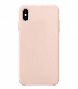 Dėklas Liquid Silicone 2.0mm Apple iPhone 11 rožinis