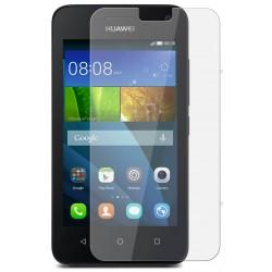 """Apsauginė ekrano plėvelė - Apsauginis grūdintas stiklas """"Tempered Glass"""" Huawei Ascend Y3/Y360 telefonui"""