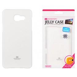 "Baltas dėklas Mercury Goospery ""Jelly Case"" Samsung Galaxy A5 2016 A510 telefonui"