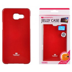 "Raudonas dėklas Mercury Goospery ""Jelly Case"" Samsung Galaxy A5 2016 A510 telefonui"