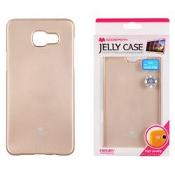"Auksinės spalvos dėklas Mercury Goospery ""Jelly Case"" Samsung Galaxy A5 2016 A510 telefonui"