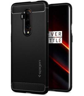 """Juodas dėklas Oneplus 7T Pro telefonui """"Spigen Rugged Armor"""""""