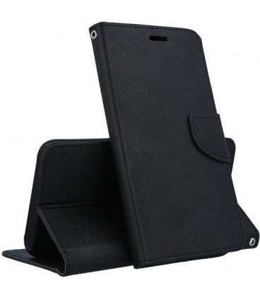 """Juodas atverčiamas dėklas Samsung Galaxy S7 Edge telefonui """"Telone Fancy"""""""