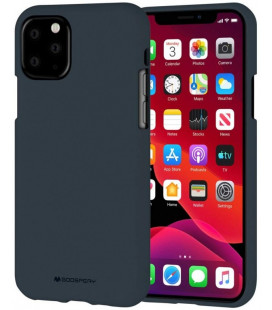 "Mėlynas silikoninis dėklas Apple iPhone 11 Pro telefonui ""Mercury Soft Feeling"""