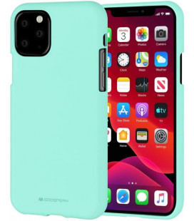 "Mėtos spalvos silikoninis dėklas Apple iPhone 11 Pro Max telefonui ""Mercury Soft Feeling"""