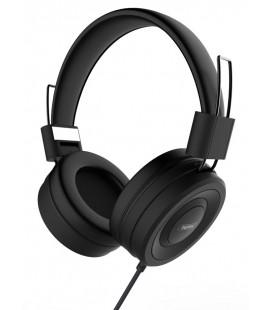 "Juodos ausinės ""Remax 4D Headphones RM-805"""