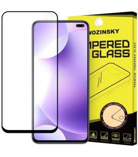 """Juodas apsauginis grūdintas stiklas Xiaomi Redmi K30 telefonui """"Wozinsky Full Glue CF"""""""
