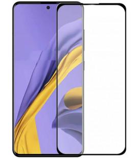 """Juodas apsauginis grūdintas stiklas Samsung Galaxy A71 telefonui """"Wozinsky Full Glue CF"""""""