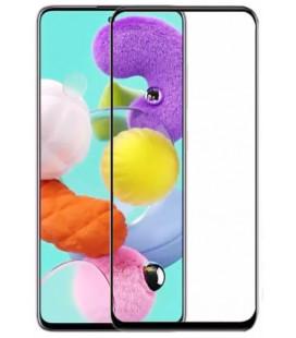 """Juodas apsauginis grūdintas stiklas Samsung Galaxy A51 telefonui """"Wozinsky Full Glue CF"""""""
