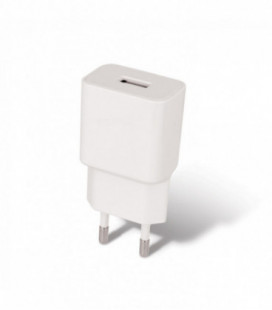 Įkroviklis buitinis Maxlife MXTC-01 FastCharging USB + microUSB (2.1A) baltas