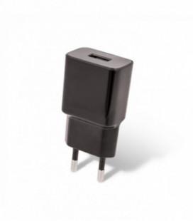 Įkroviklis buitinis Maxlife MXTC-01 FastCharging USB + microUSB (2.1A) juodas