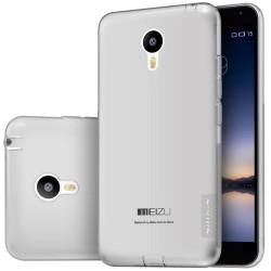 """Pilkas silikoninis dėklas Meizu MX5 Telefonui """"Nillkin Nature"""""""