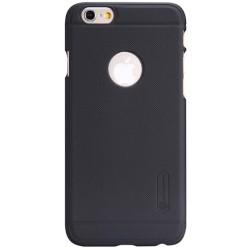 """Juodas plastikinis dėklas Apple iPhone 6/6s telefonui """"Nillkin Frosted Shield"""""""