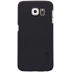 """Juodas plastikinis dėklas Samsung Galaxy S6 telefonui """"Nillkin Frosted Shield"""""""