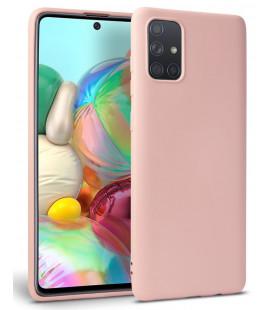 """Rožinis dėklas Samsung Galaxy A51 telefonui """"Tech-protect Icon"""""""