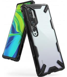 """Juodas dėklas Xiaomi Mi Note 10/10 PRO telefonui """"Ringke Fusion X"""""""