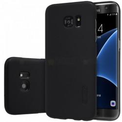 """Juodas plastikinis dėklas Samsung Galaxy S7 Edge G935 telefonui """"Nillkin Frosted Shield"""""""