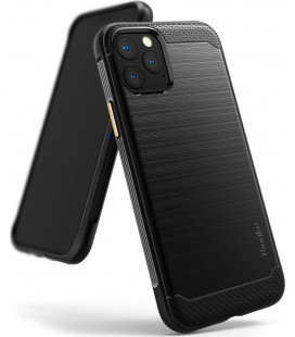 """Juodas dėklas Apple iPhone 11 Pro Max telefonui """"Ringke Onyx"""""""