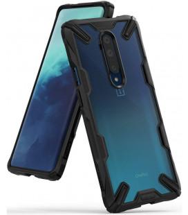 """Juodas dėklas Oneplus 7T Pro telefonui """"Ringke Fusion X"""""""