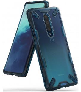 """Mėlynas dėklas Oneplus 7T Pro telefonui """"Ringke Fusion X"""""""