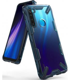 "Mėlynas dėklas Xiaomi Redmi Note 8 telefonui ""Ringke Fusion X"""