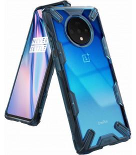 """Mėlynas dėklas Oneplus 7T telefonui """"Ringke Fusion X"""""""