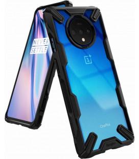 """Juodas dėklas Oneplus 7T telefonui """"Ringke Fusion X"""""""