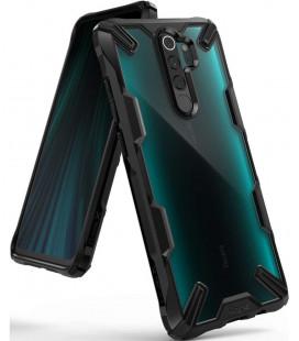 """Juodas dėklas Xiaomi Redmi Note 8 Pro telefonui """"Ringke Fusion X"""""""