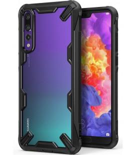 """Juodas dėklas Huawei P20 Pro telefonui """"Ringke Fusion X"""""""