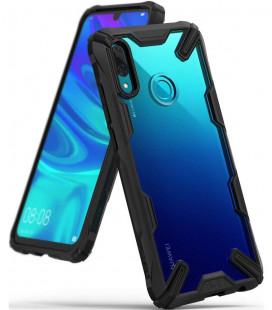 """Juodas dėklas Huawei P Smart 2019 telefonui """"Ringke Fusion X"""""""