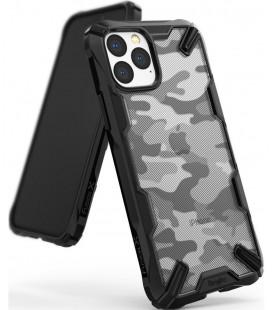 """Juodas (Camo) dėklas Apple iPhone 11 Pro Max telefonui """"Ringke Fusion X"""""""
