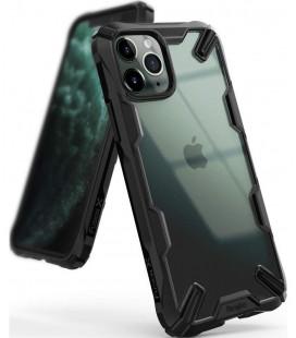"""Juodas dėklas Apple iPhone 11 Pro Max telefonui """"Ringke Fusion X"""""""